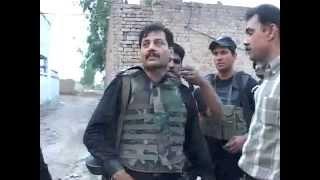 Real Police Enconter (police muqabla) 7 killed , by Inspector Riaz Abbas SHO Khanga Dogran ..