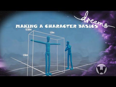 Dreams PS4 Tutorial Making a Character Basics