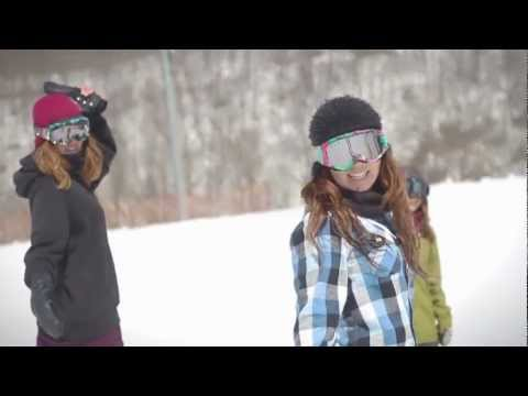 Enjoy boarding for all girls who loves snowboarding by head girls.