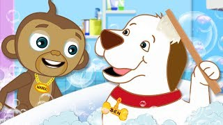 Bath Song | Original Song |  Nursery Rhymes for Children by HooplaKidz