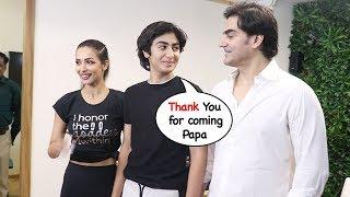 Arbaaz Khan & Malaika Arora Back Together After Divorce For Son Arhaan Khan @New Gym launch