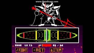 Undertale king Asgor boss battle