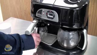 DeLonghi BCO130T Combination Machine at Whole Latte Love