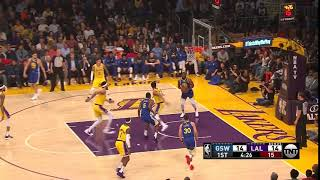 1st Quarter, One Box Video: Los Angeles Lakers vs. Golden State Warriors