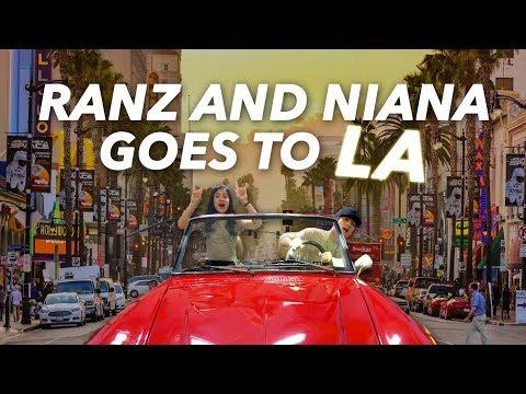 Ranz and Niana Goes To LA (Carpool Around)