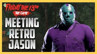 Meeting Retro Jason - Friday the 13th The Game