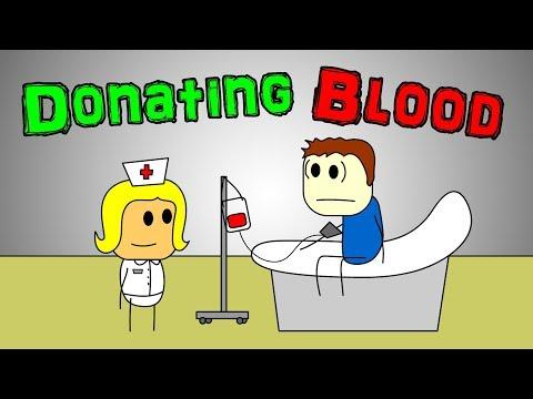 Brewstew Donating Blood