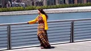 Bhutanese Singer Makes Music Video by East River, NYC