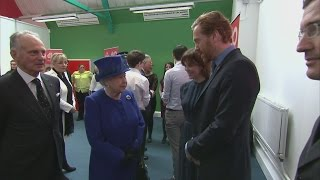 Homeland star Damian Lewis thanks Queen for racing tips