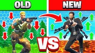 OLD vs NEW FORTNITE Creative Game Mode