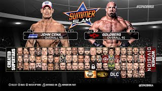 WWE 2K17 ROSTER! POST-DRAFT (PS4/XB1 Concept!)