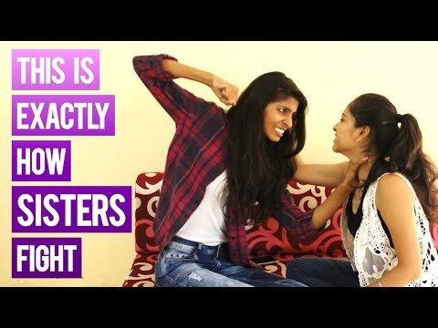 Weird Things Sisters Fight About  | Indian Dose