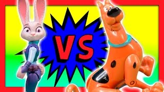 SCOOBY DOO! vs ZOOTOPIA Best Detective Hide And Go Seek Game TheEngineeringFamily Funny Kids Video