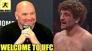 Ben Askren's face looked like someone who got hit by a bus,Why Jon Jones wan't DQ'ed,Tyron Woodley