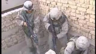 Footage/Language Warning: U.S. Marines Battle In Fallujah, Iraq