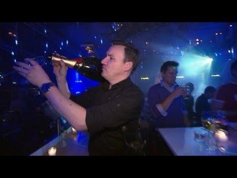 Russen in Ischgl: Morgens Piste, abends Party