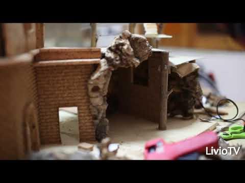 Costruire un Presepe in sughero Video esempio pratico the neapolitan crib