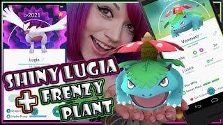 SHINY LUGIA + FRENZY PLANT COMMUNITY DAY POKEMON GO NEWS!!!