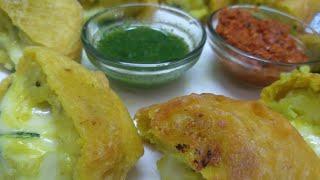 Cheese Wada / Cheese Recipy / How to make Wada / Foody falak / aloo Recipy / Snaks / Simple ....