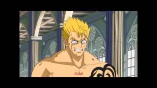 Fairy Tail Natsu vs Laxus