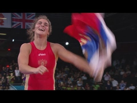 Vorobieva wins Gold Women s Freestyle 72kg London 2012 Olympics