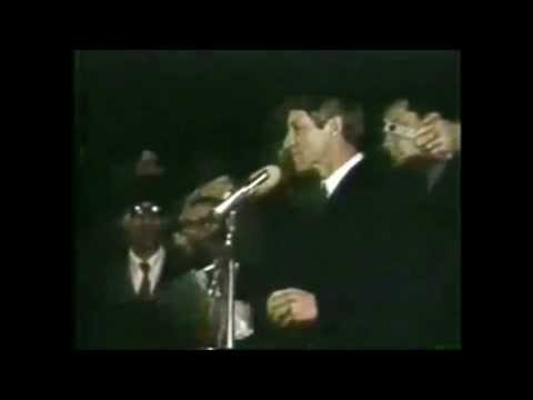 Robert F Kennedy Announcing The Death Of Martin Luther King A Great Speech