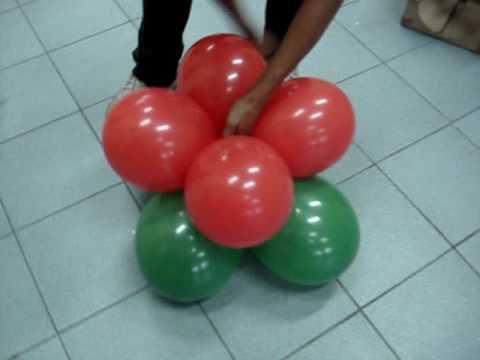 Flor em balão
