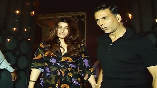 Akshay Kumar With Wife Twinkle At Valentines Party 2017 - The Korner House