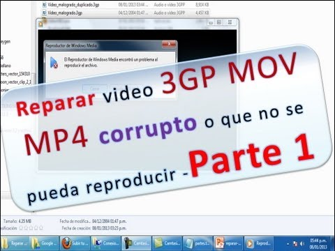 Xxx Mp4 Reparar Video Mp4 Mov 3gp Corrupto Malogrado O Que No Se Pueda Reproducir Parte 01 3gp Sex