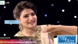 Mahesh Babu Asking Samantha About Pawan Kalyan .............