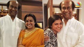 Raveena & Sreeja Ravi meet Superstar Rajinikanth | Hot Tamil Cinema News