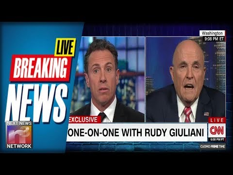 BREAKING All Hell Breaks Loose After Giuliani Goes on CNN and Says ONE Thing About Collusion