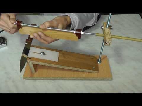 Приспособление своими руками для заточки ножей
