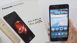 Panasonic Eluga Ray Max Smartphone Unboxing & Overview