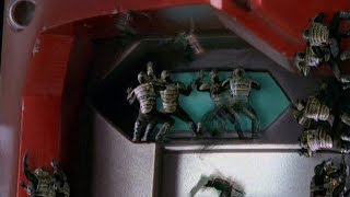 Power Rangers Lost Galaxy - Journey's End - End of the Megazords