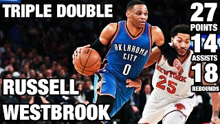 Westbrook Posts 3rd Straight Triple Double l 11.28.16