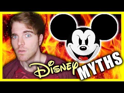 SCARY DISNEY MYTHS!