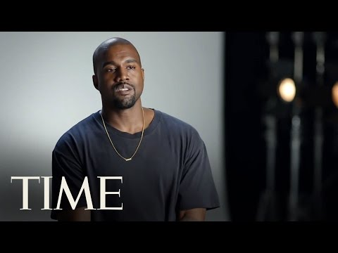 Kanye West on Why He s Not in a Competition With Anyone TIME 100 TIME