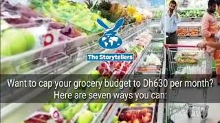 Cap your monthly grocery budget to Dh630