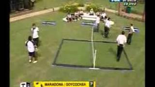 Futbol para todos vs Maradona
