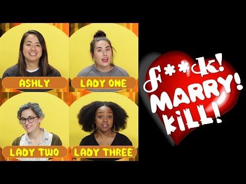Ashly, Sara, Ella, & Quinta Play F***, Marry, Kill