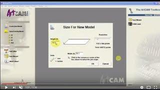 Artcam introduction