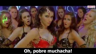 Ayyo Paapam Sub Español HD ll Yevadu Video Songs ll Ram Charan, Allu Arjun, Shruti Hassan, Kajal