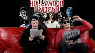 Hollywood Undead - KFMA Chat [December 20, 2012]