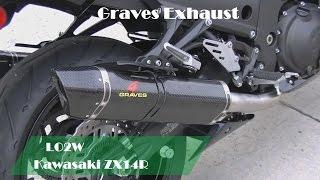 Top 7 Full Exhaust Sound Kawasaki ZX14R / Yoshimura, M4, Graves, Brocks, Voodoo, Muzzy