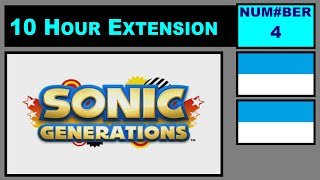 Sonic Generations Music - City Escape: Act 1 [10 Hour Extension]