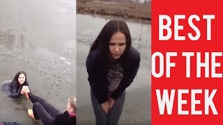 Bikini Girl Falls Twice and other fails. The best fails. January. Week 4.