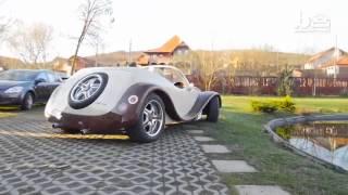 Car pentry  Man Spends $20,000 Building Wooden Concept Car