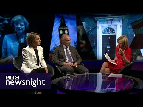 Who is Theresa May BBC Newsnight
