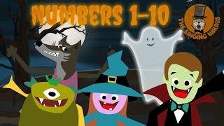 Halloween Song for Kids | Halloween Creatures | The Singing Walrus
